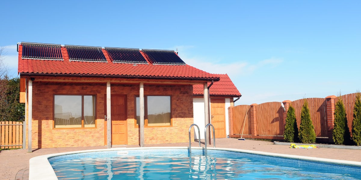 zonneboilersysteem zwembad
